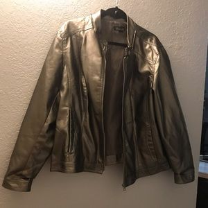 Metallic Moto jacket size 22